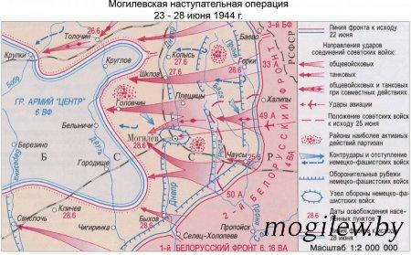 Участие инженерных частей в освобождении Могилева